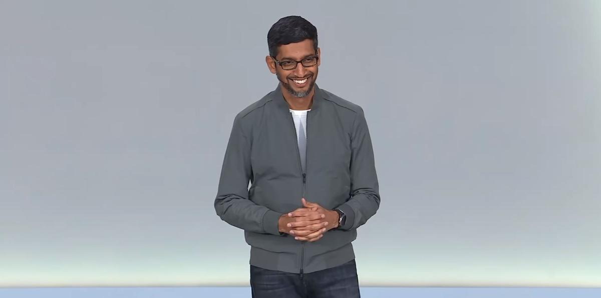 Sundar Pichai Google IO 2019