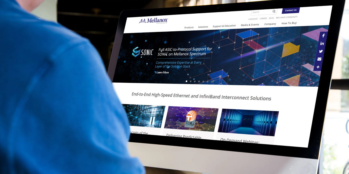 Mellanox Announces Support Solutions for SONiC Open Source Network Operating System