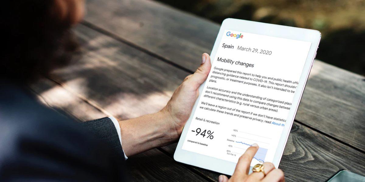 Google ayuda a las autoridades a hacer cumplir la cuarentena