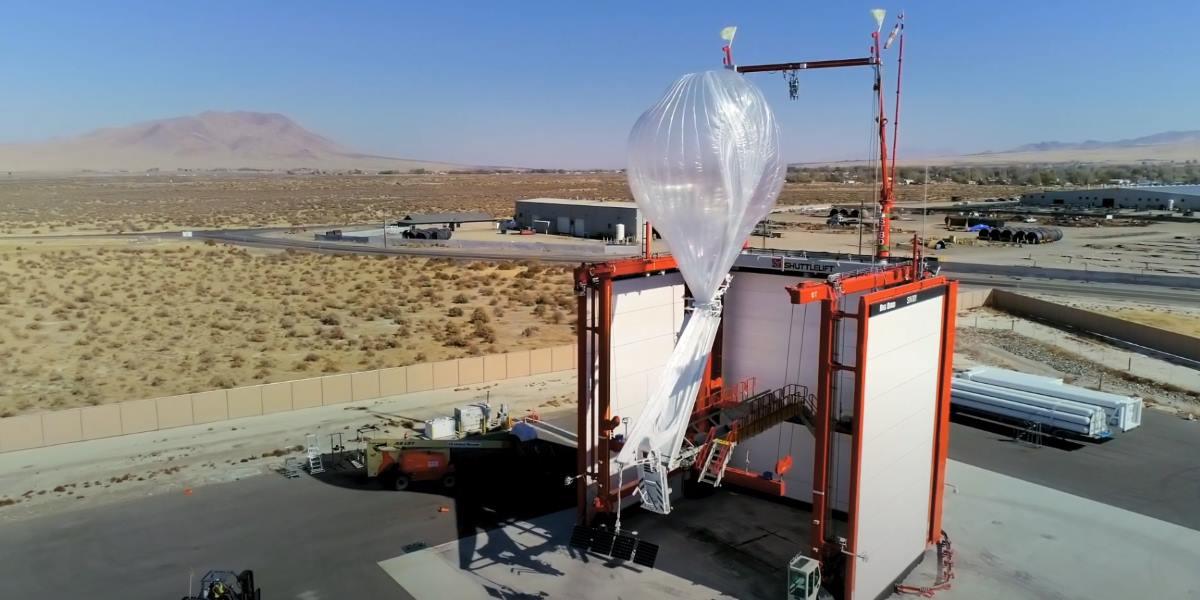 Restablecen Internet durante desastres mediante globos flotantes