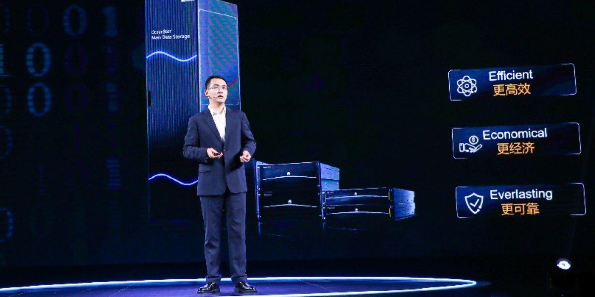 Huawei presenta el sistema de almacenamiento a gran escala OceanStor