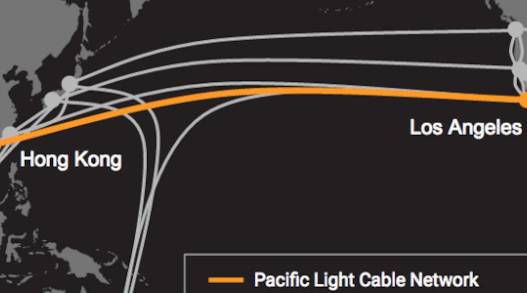 Google y Facebook  desactivan el tramo Hong Kong  de cable submarino