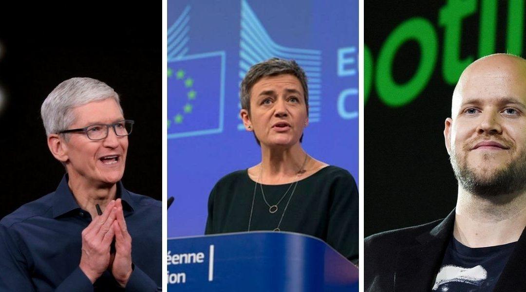 La UE presenta cargos antimonopolio contra Apple