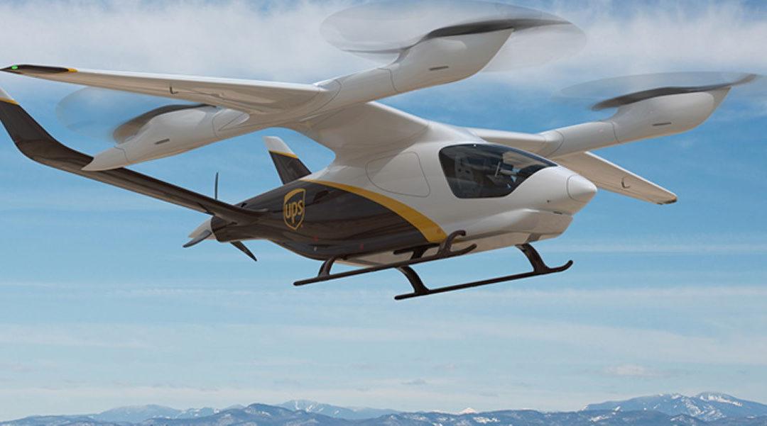 UPS utilizará a gran escala aviones eléctricos con autonomía de 400 km