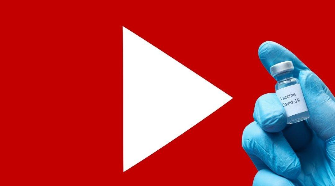YouTube bloquea todas las cuentas antivacunas